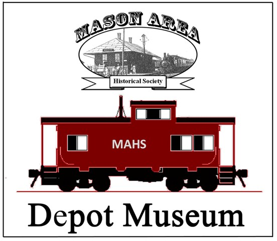 Mason-Historical-Society-Caboose-and-logo-8x10